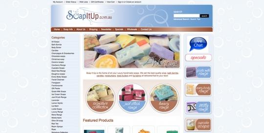 Soap it up