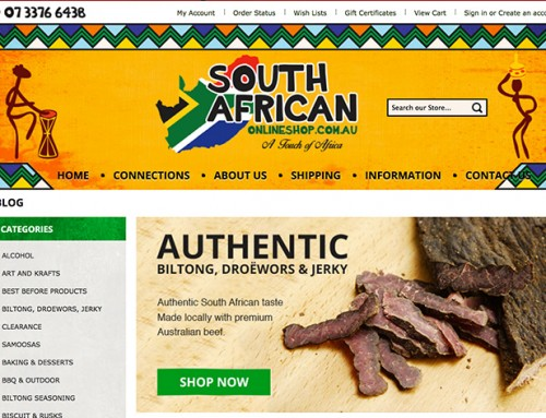 South African Online Shop