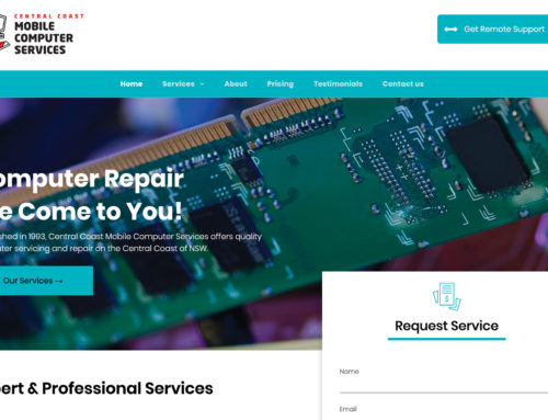 Central Coast Mobile Computer Services